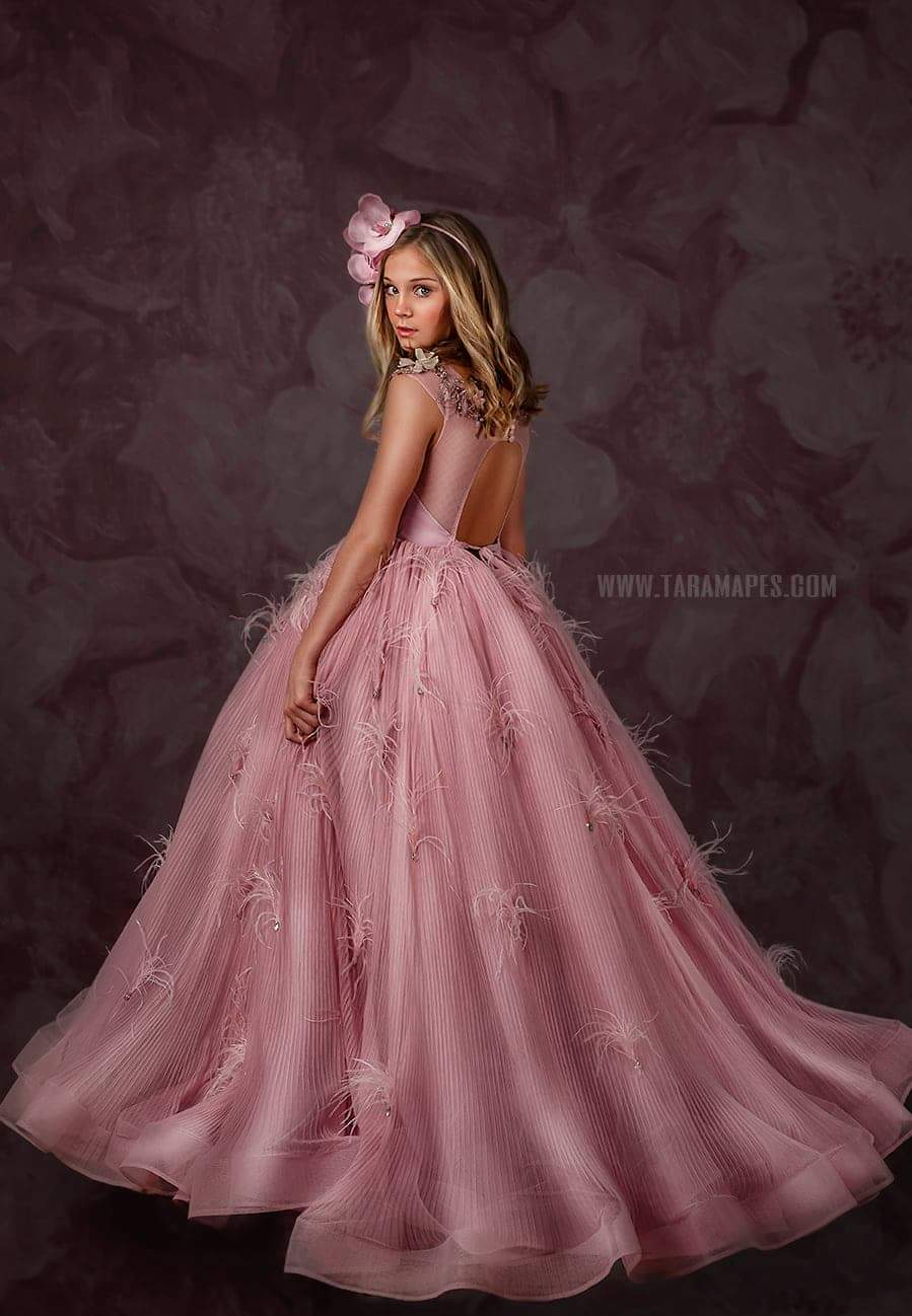 Twilight Mauve Gown