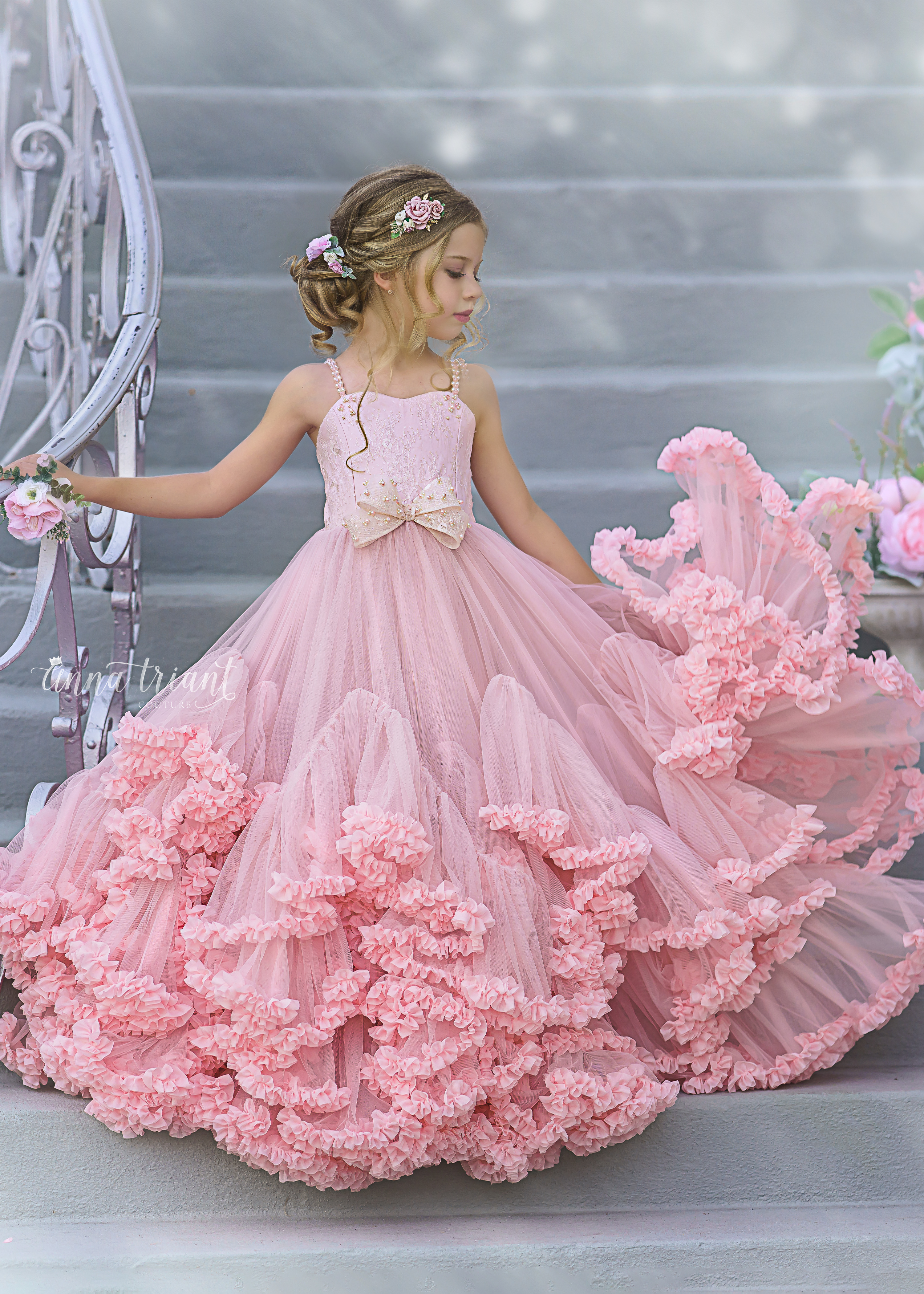 Frilled to Perfection Gown
