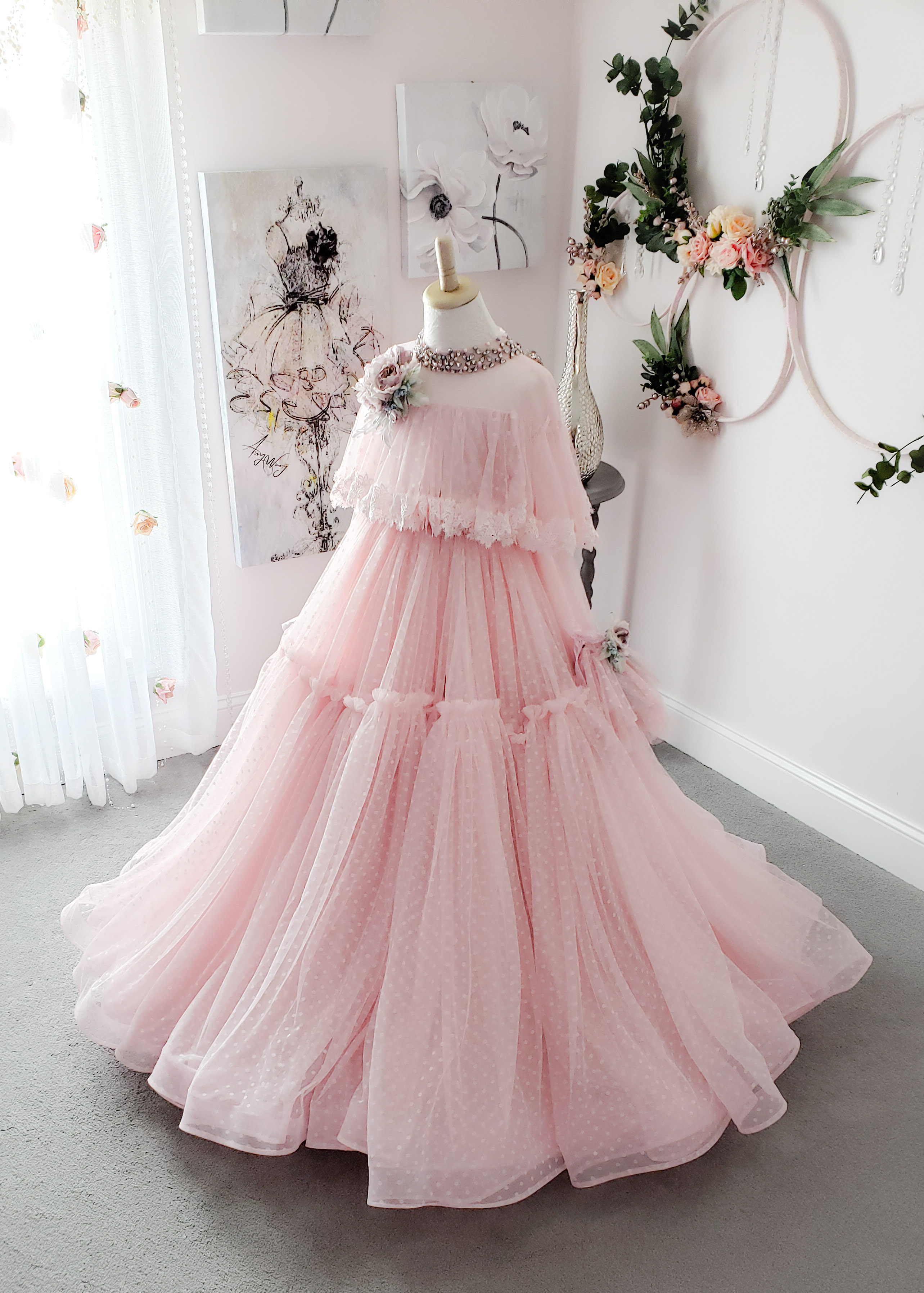 Delia Gown - Pink