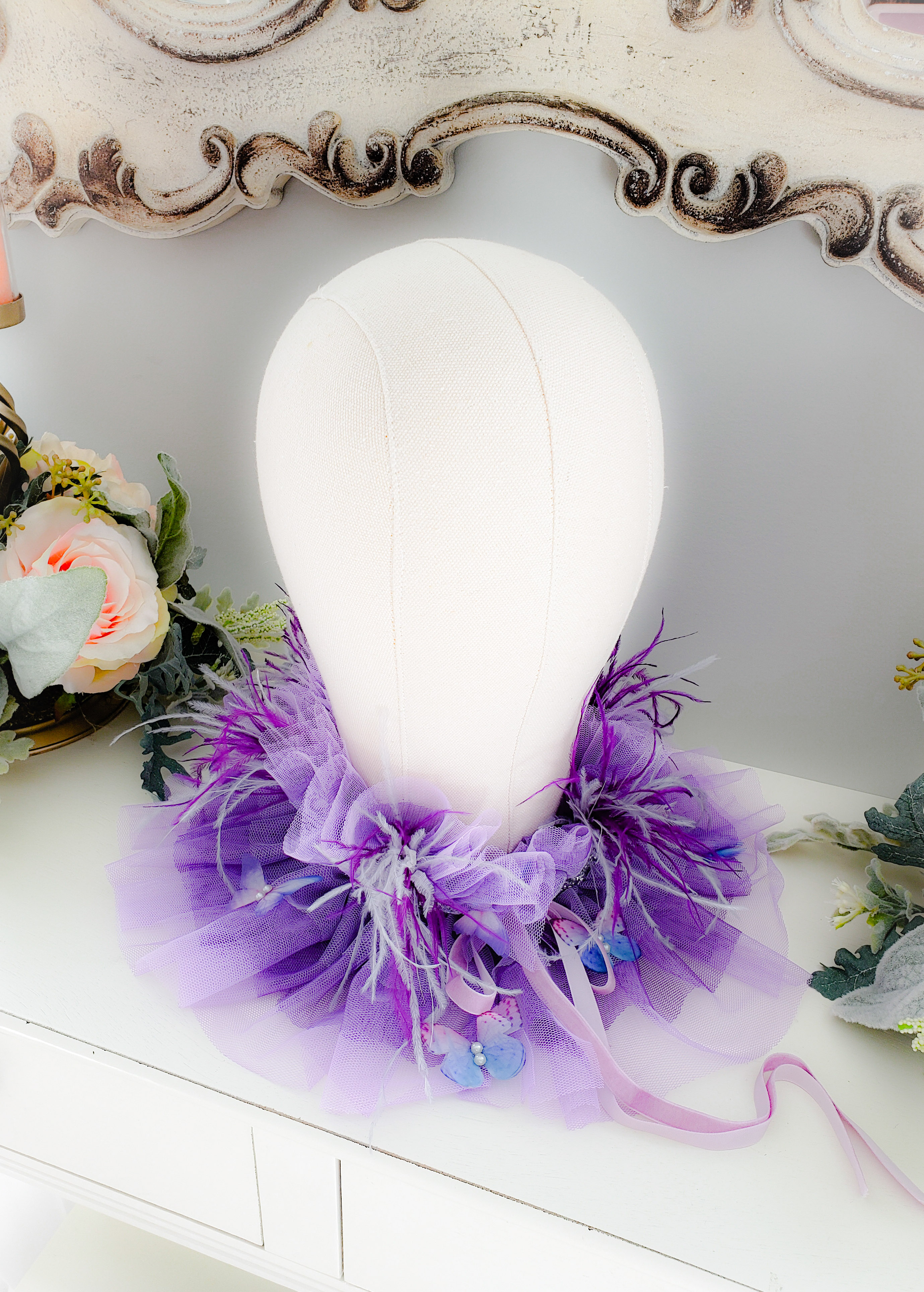 Ombre Butterfly Collar