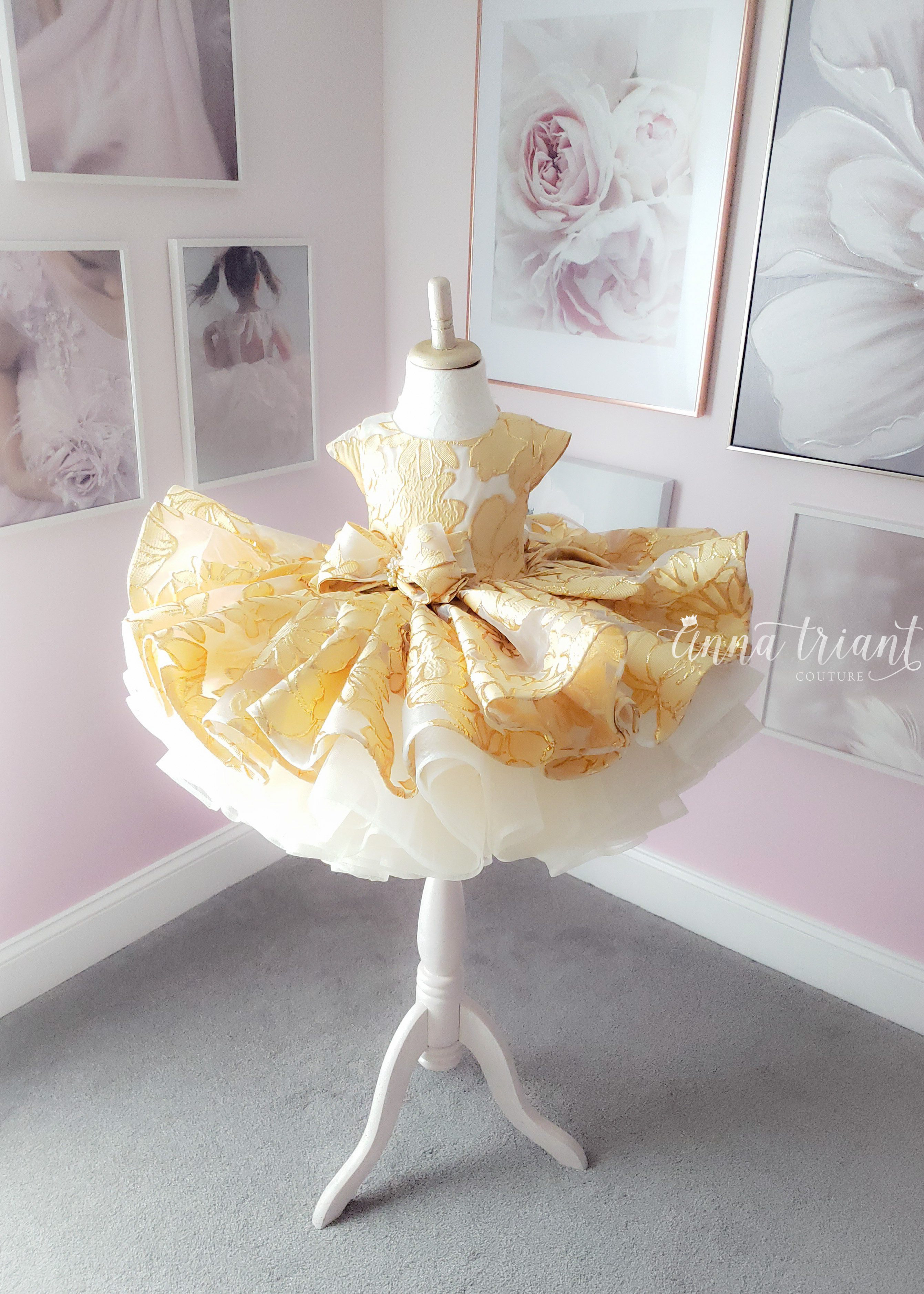Gilded Blooms Dress