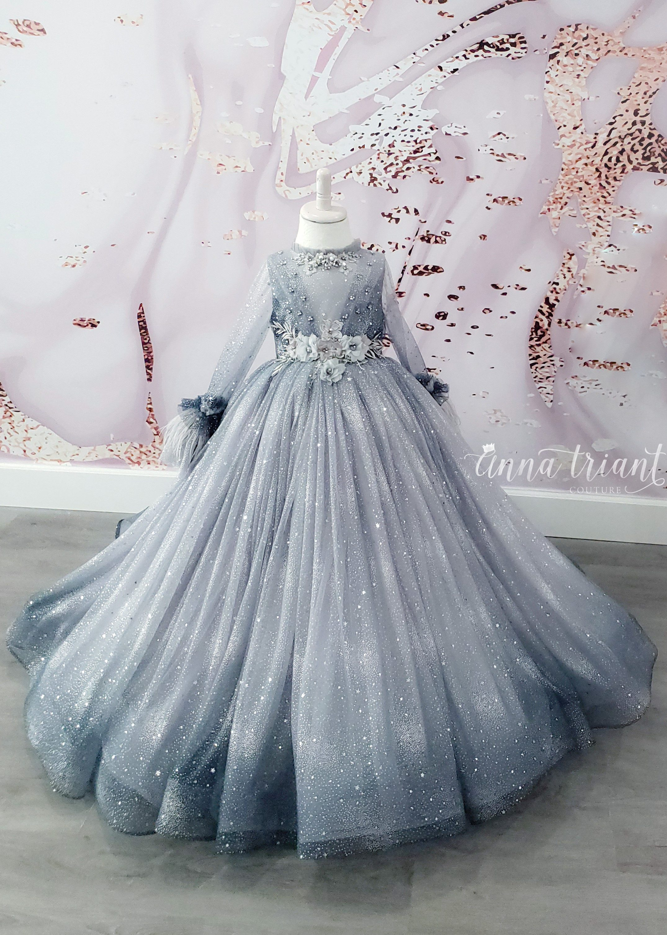 Winter Dazzling Ombre Gown