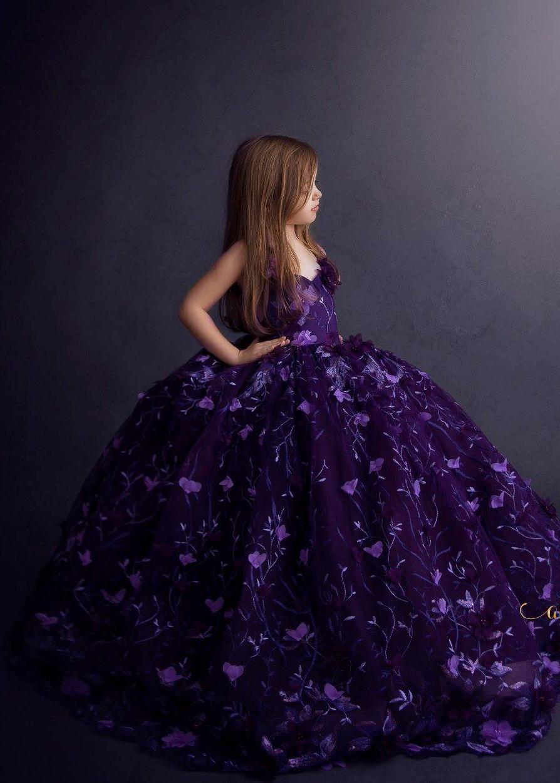 Kira Gown - Deep Purple