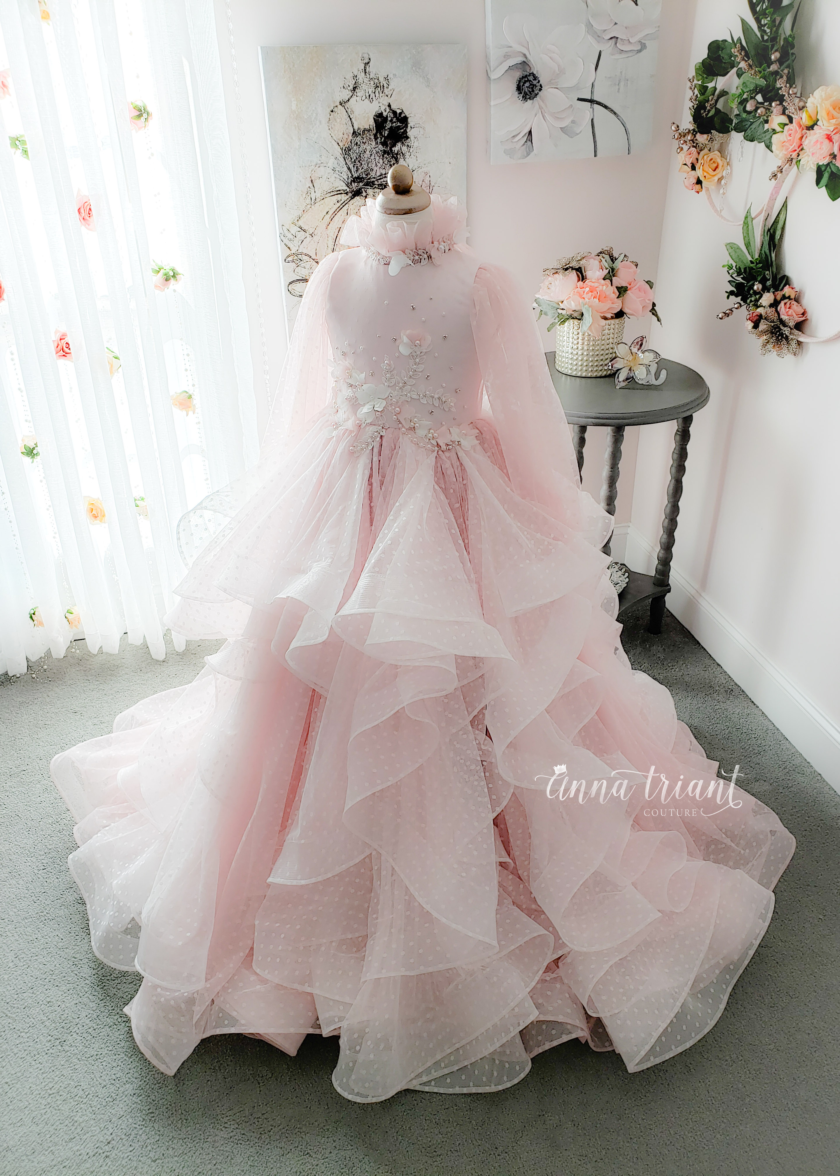 Pink Froth Gown