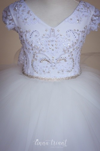 Tulle Overskirt with Bow