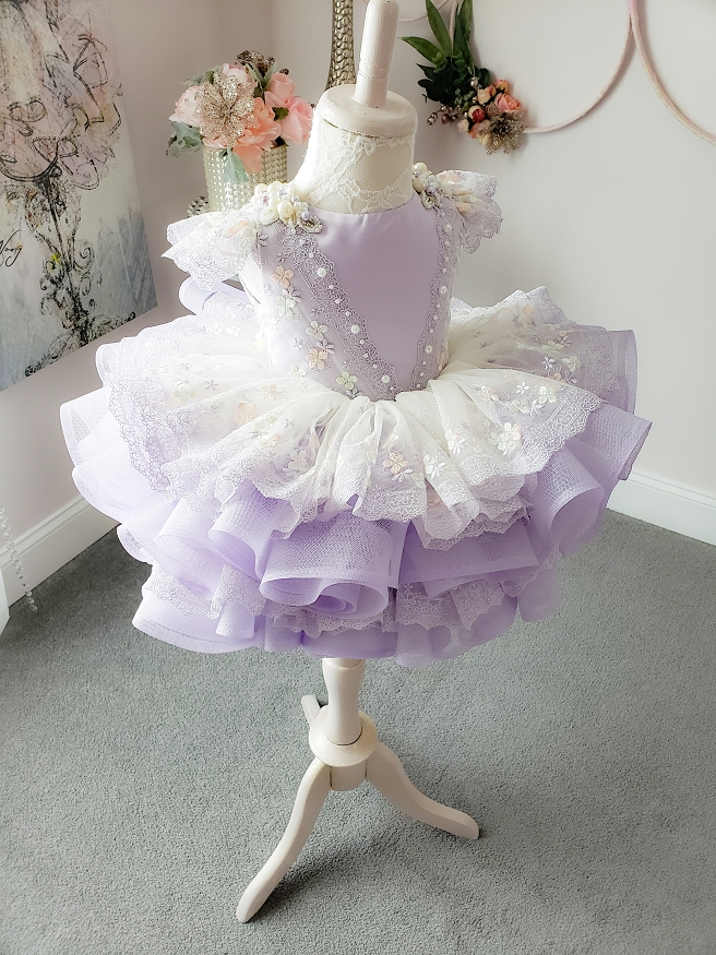 Mia Lavender Dress