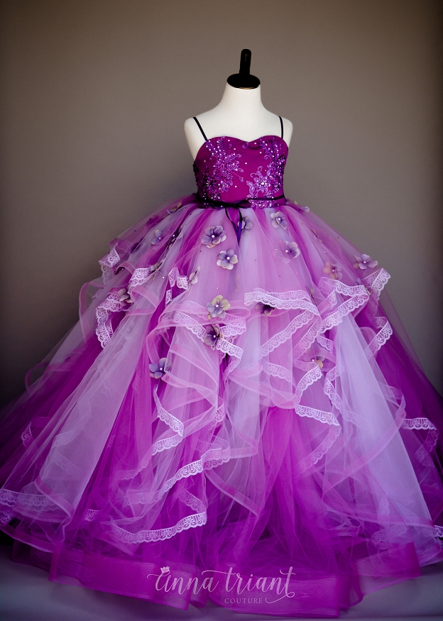 Radiant Orchid Gown