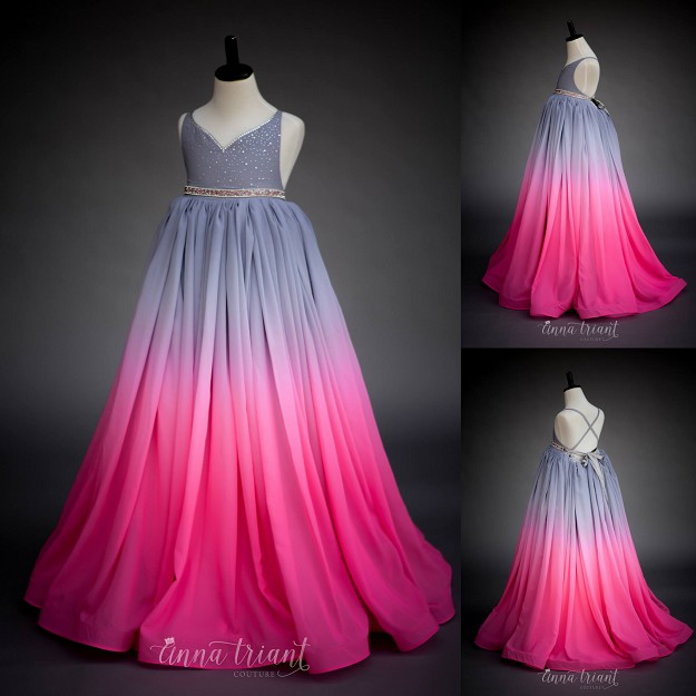 Julie Ombre Gown