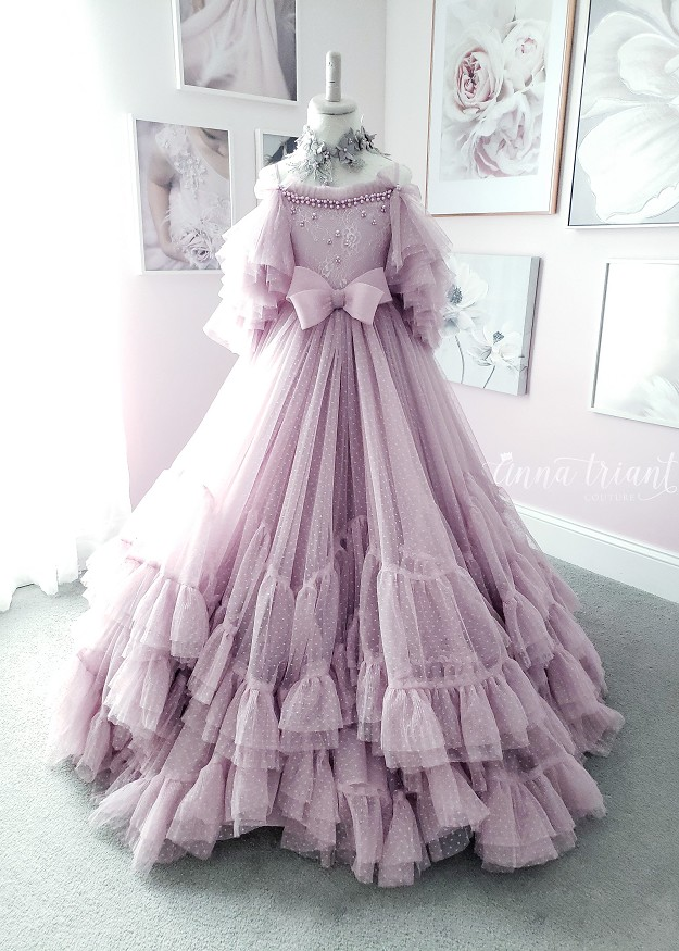 Enchanted Lilac Gown