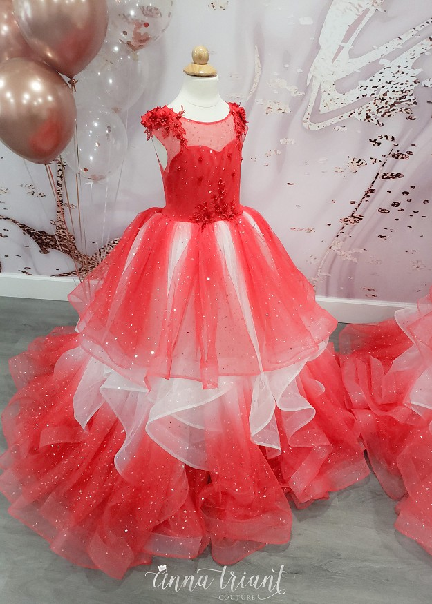 Red Ombre Dreams Gown