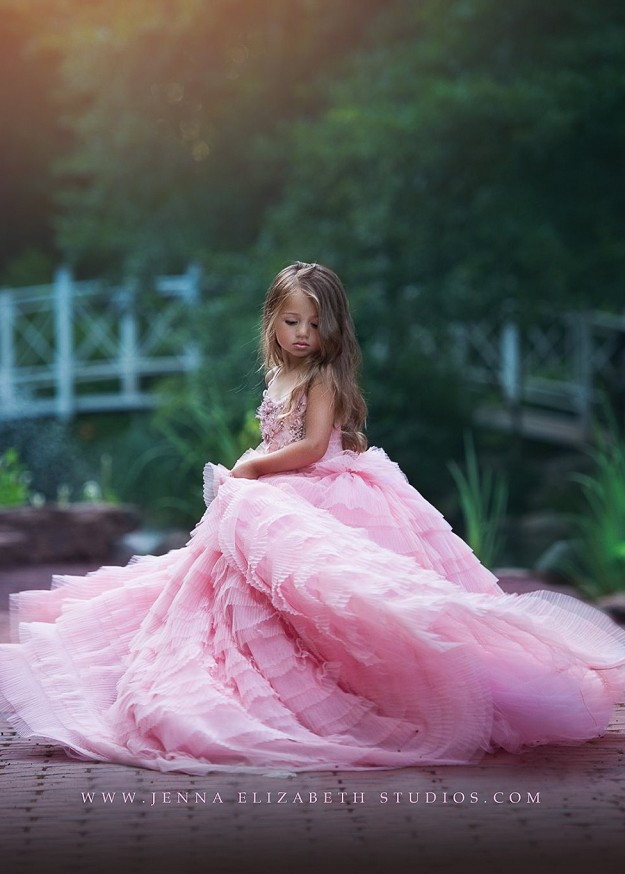 Eva Rosy Pink Gown