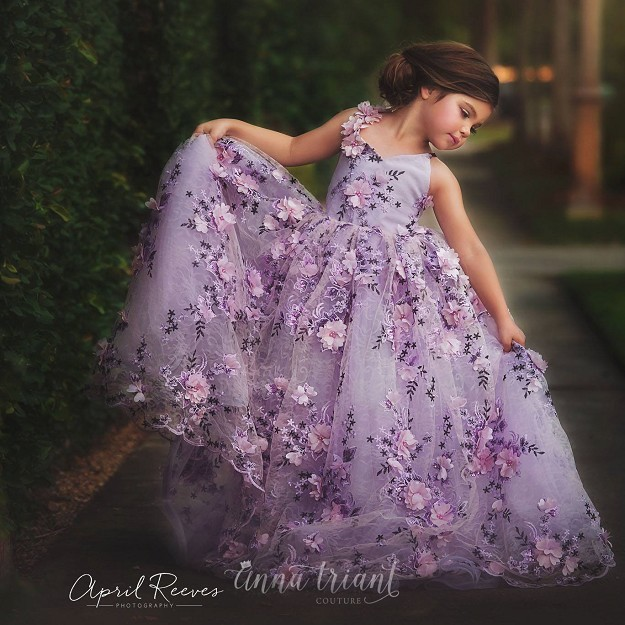 Violet Gown